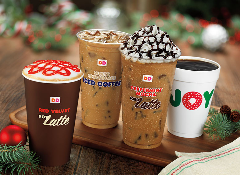 dunkin donuts holiday drinks